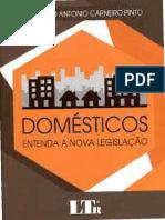 Raymundo Antonio Carneiro Pinto Domésticos Entenda a Nova Legislação (2015)