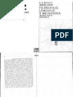 Rabossi-Análisis filosófico, lenguaje y metafísica (1977).pdf