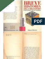 Breve Historia Del Urbanismo- Fernando Chueca Goitia