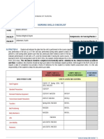 nursing skills checklist  2   1