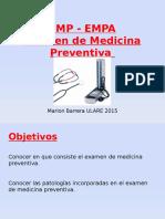 Examen de Medicina Preventiva