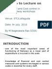 lectureonfinancialandcostcontrolinrailwayworkshops-100817124742-phpapp01