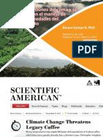 Las Variaciones Del Clima y Su Efecto en El Manejo de Enfermedades Del Cafeto Álvaro Gaitán B
