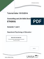 Tutorial Letter 101 2014_ETH203Q