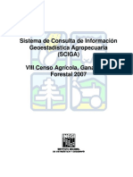 Sistema de Consulta de Información Geoestadística Agropecuaria (SCIGA)