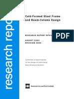 Cold-formed steel frame and beam-column design.pdf
