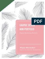 graphic design mini-portfolio