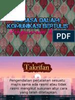 bahasadalamkomunikasibertulis-090915112914-phpapp01