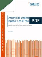 Informe Internet 2010-España y Mundo