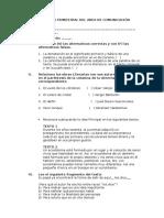 Evaluación Trimestral Del Area de Comunicación 2
