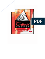 Rulebook Selector Tutorial