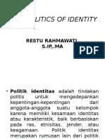 3. POLITIK IDENTITAS