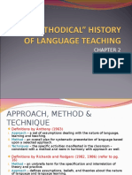 A Methodical History of Langauge Teaching (Chapter 2) - WK4