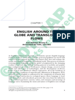 English around the globe and translocal flows