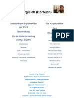 Technikvergleich (Hörbuch - 18.07.2010)
