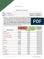 hm - nursing skills checklist