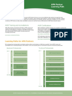 APN Partner Learning Plan