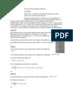 Aplicación de Sistema de Ecuaciones Lineales