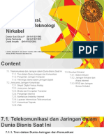 SIM Ppt Bab 7 Telekomunikasi, Internet Dan Teknologi Nirkabel
