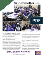 UW Newsletter APR/MAR 2017