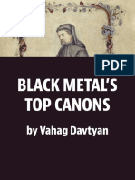 Black Metal's New Canon's