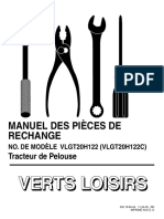 VERTS LOISIRS Parts List