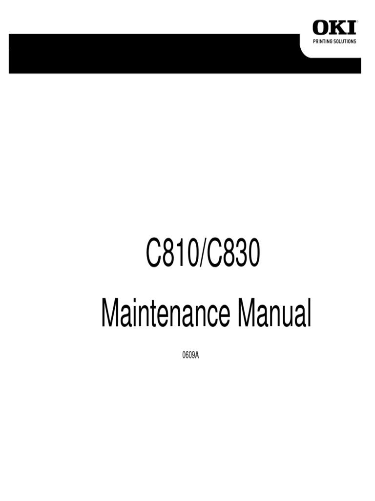 Okidata C830 Drivers For Mac