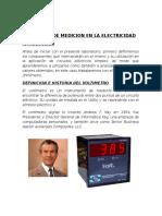 Elementos de Medicion en La Electricidad