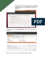O Processo de Instalação Do Ubuntu 12