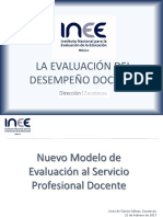 Modelo de Evaluacion Inee