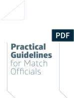 IFAB Laws of the Game Practical Guidelines
