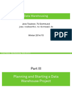3-Oracle DW - Planning
