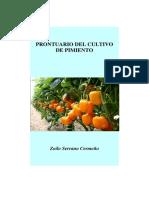 Prontuario Del Cultivo de Pimiento