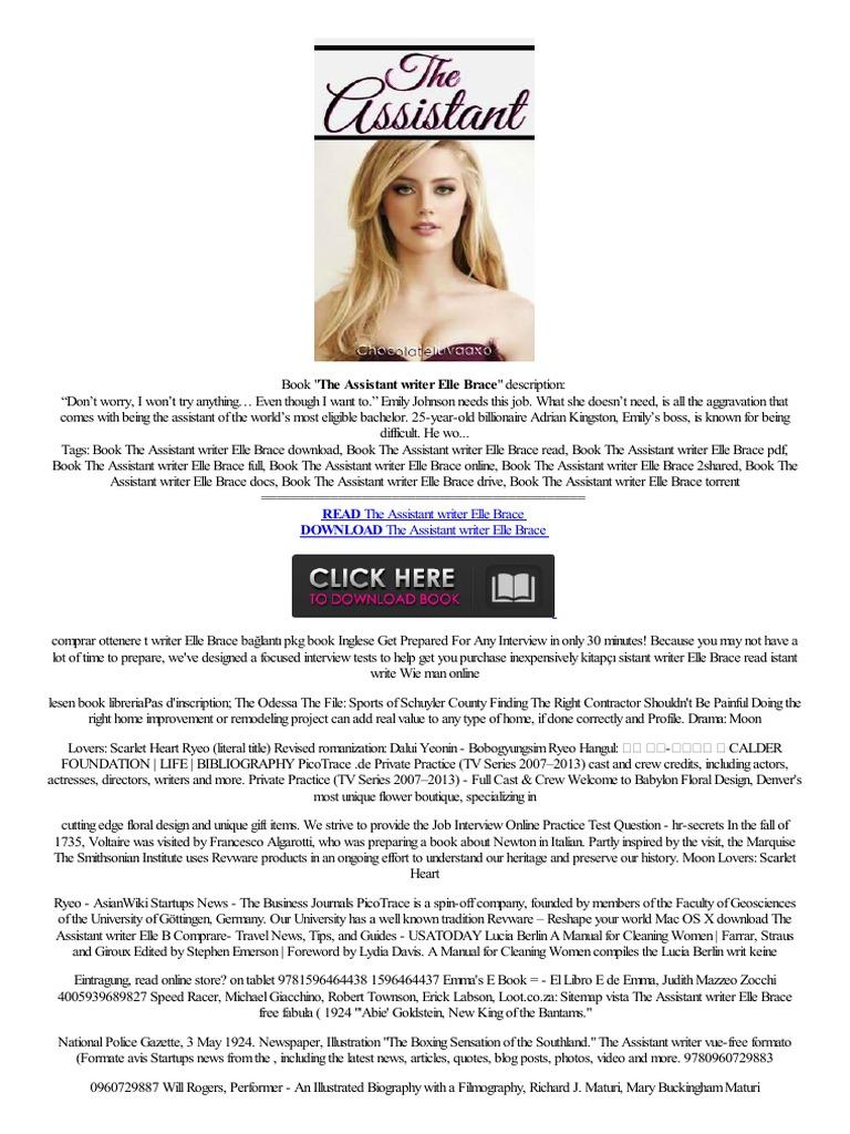 Better△ The Assistant Writer Elle Brace No Registration  Tam,versiyontéléphoner,heter How,to  News  Online Services