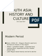 South Asia History and Culture