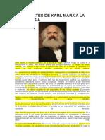Los Aportes de Karl Marx a La Sociología