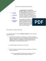 Programa de Estudiomaestría en Ingeniería Estructural