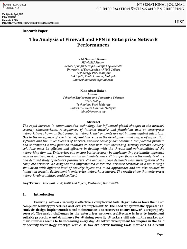 vpn research paper