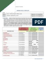 nursing skills checklist final
