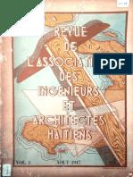 1947-8 Revue de L'Association Des Ingenieurs Et Architects