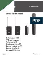 Shure Mic Fp Wireless Ug