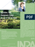 INRA Foresterie Agricultyre GES
