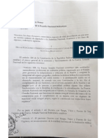 AN exige a GNB hacer respetar la Constitución