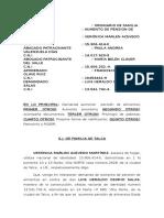 Aumento Pension Veronica Acevedo