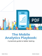 Mobile Analytics Playbook 2016 Full Book