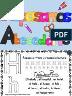 Magnifico Cuaderno Para Repasar El Abecedario PDF 2