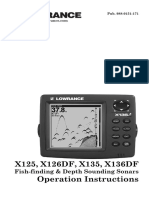 Lowrance X135manual