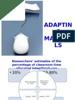 (s) Adapting Materials (1)
