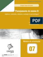 07 Planejamento II