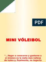 MINIVOLEIBOL 2017